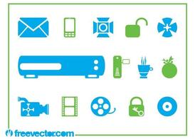 Tech Symbols And Icons
