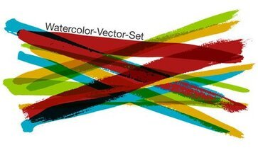 Free Watercolor Vector Set