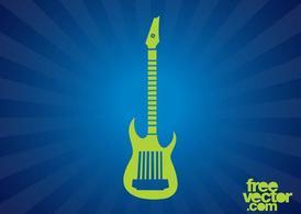 Electric Guitar Silhouette