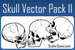 Free Skull Vector Pack Illustrator