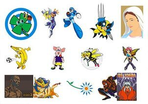 Animation cartoon characters