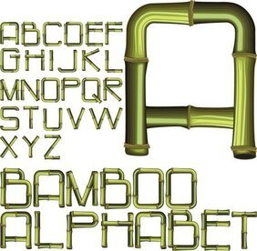 Bamboo Creative Letters 02