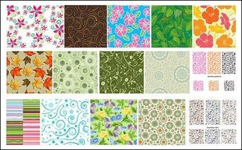 Featured tile pattern vector background material