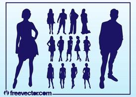 Vector Fashion Models