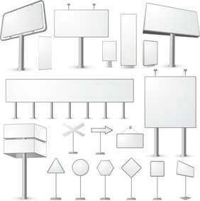 Blank Billboard Series
