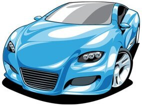 Beautiful sports car 01