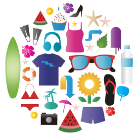 Vector Summer Icons