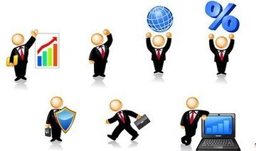 Business Person of the icon image of the