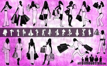 28 Shopping girls