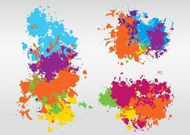 Colorful Splashes Design