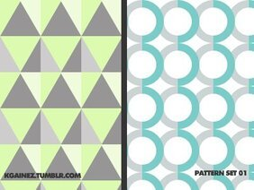 Shape Pattern Set 1