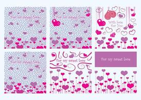 Valentine Card vectoren