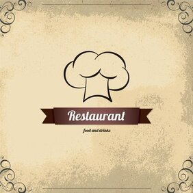 Continental menu template 06