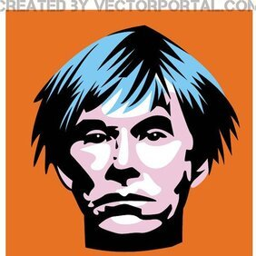 ANDY WARHOL VECTOR PORTRAIT.eps