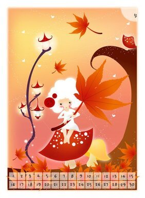 Exquisite South Korea Cartoon Vector Illustration 05