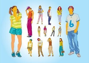 Teenager Illustrations