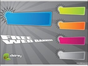 Banner Web luminoso