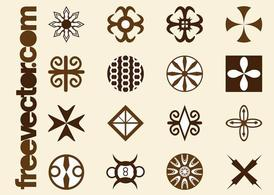 Tribal Icons Graphics