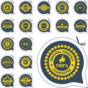 All Kinds Of Badge Labels 04