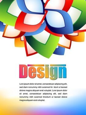 Colorful Advertising Posters 03