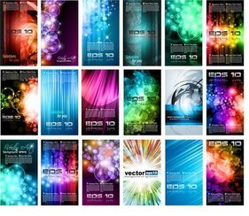 Brilliant Light Effects Dynamic Business Cards 01