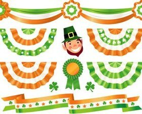 Stock Illustrations paddy's Decorations