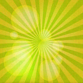 Free Sunburst Vector Background Illustration