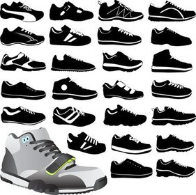 Variety Vector Shoes