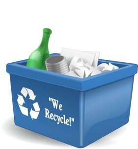 Recycling Box 3d