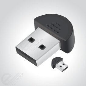Free vector Bluetooth USB Dongle