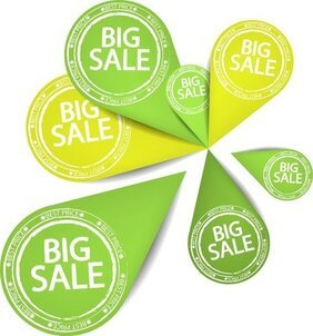 Special Sales Discount Graphic Design Vector 1