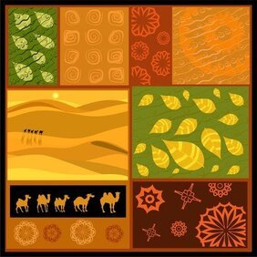 Vector African Ornaments