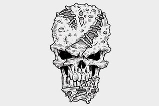 Skull Vector Illustration (Free)