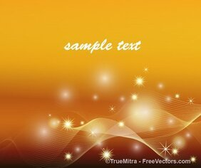 Abstract Graphic Sparkle Background