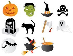 Halloween gratis Icon Set