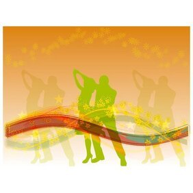 MUSIC DANCE THEME STOCK VECTOR IMAGE.ai