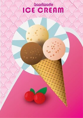 Free Vector Ice Cream Flyer