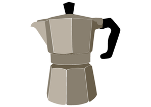 Vector Coffee Pot