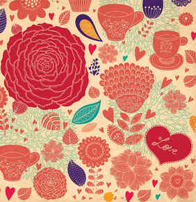 Flor Vector Backgrounds