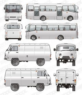 Passenger and commercial vehicles