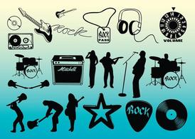Free Rock Music Vectors