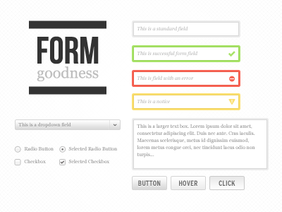 Form Goodness UI Kit