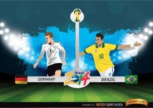 Coppa del mondo FIFA Germania vs Brasile