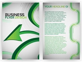 Beautiful Flyer Plate Design 02