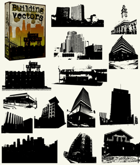 Buildings Free Vector Pack - Skyscrapers, Skylines & Old Buildings