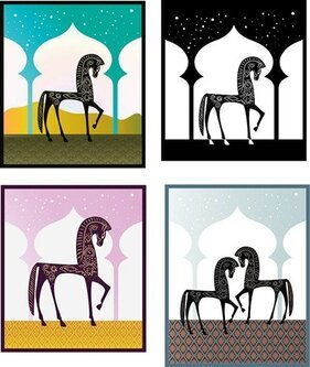 Free Vector Graphics - One Thousand Nights and One