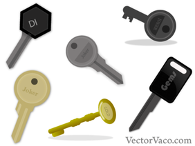 Key Vector Art Free