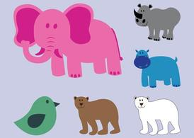 Wild Animals Vectors