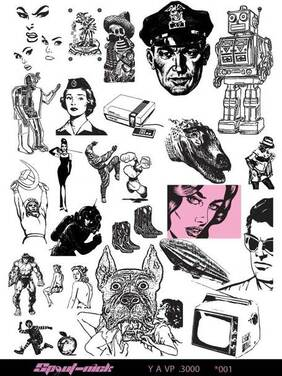 Style Vintage Vector Pack