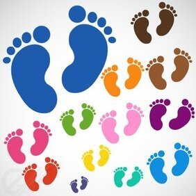free baby feet clipart in ai svg eps or psd baby feet clipart in ai svg eps or psd